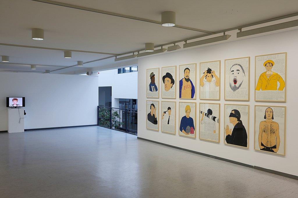 Kunst und Neue Arbeitswelt, Städtische Galerie Waldkraiburg, 2013