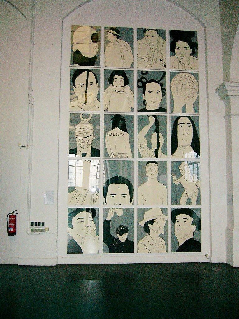 Madame Realité, E-Werk Hallen für Kunst, Freiburg, 2004