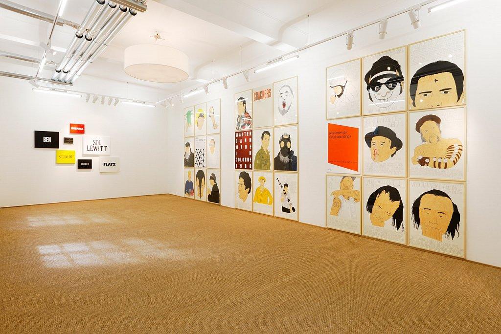 Book, Portraits & Vanity Plates, Van der Grinten Galerie, Köln, 2014